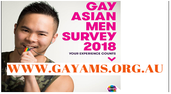 MHAHS supports Asian gay men's survey